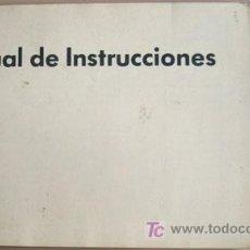Coches y Motocicletas - VOLKSWAGEN POLO - 1989 - TODA LA GAMA - MANUAL INSTRUCCIONES USUARIO, TEXTO EN ESPAÑOL. - 22237733