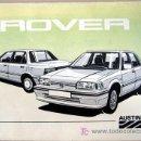 Coches y Motocicletas: AUSTIN ROVER - 1986 - TODA LA GAMA - MANUAL INSTRUCCIONES USUARIO, TEXTO EN ESPAÑOL. . Lote 25673718