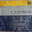 Coches y Motocicletas: OPEL CORSA - 1986 - TODA LA GAMA - MANUAL INSTRUCCIONES USUARIO, TEXTO EN ESPAÑOL. . Lote 13695368