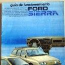Coches y Motocicletas: FORD SIERRA - 1997 - TODA LA GAMA - MANUAL INSTRUCCIONES USUARIO, TEXTO EN ESPAÑOL. . Lote 26035072