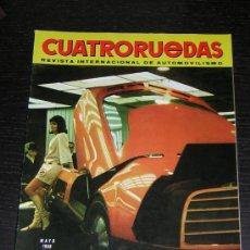 Coches y Motocicletas: CUATRORUEDAS Nº 53 - MAY 1968 - SALON BARCELONA / SALON NEW YORK. Lote 11050111