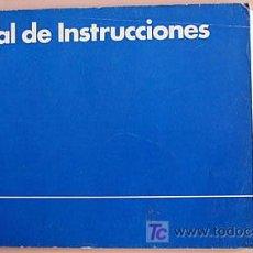 Coches y Motocicletas - VOLKSWAGEN POLO - 1983 - TODA LA GAMA - MANUAL INSTRUCCIONES USUARIO, TEXTO EN ESPAÑOL. - 22056032