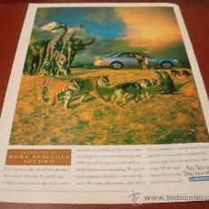 Coches y Motocicletas: HONDA ACCORD 1998: ANUNCIO PUBLICITARIO. Lote 11323415