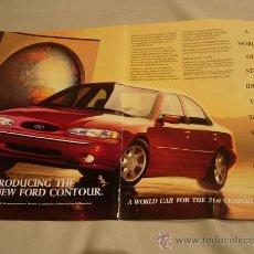 Coches y Motocicletas: FORD CONTOUR (FORD MONDEO): ANUNCIO PUBLICITARIO 1994. Lote 11336461