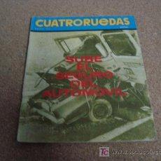 Coches y Motocicletas: CUATRORUEDAS ENERO 1972, MAZDA RX 2.. Lote 17903014