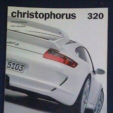 Coches y Motocicletas: CHRISTOPHORUS NÚMERO 320 - JULIO 2006 - EDITADA POR PORSCHE - PORSCHE 911 GT3 TARGA FLORIO. Lote 53902301