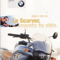 Coches y Motocicletas: CATÁLOGO PUBLICITARIO BMW F 650 CS.. Lote 27528898