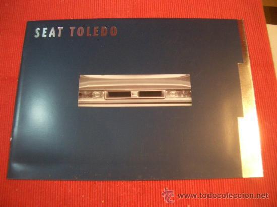SEAT TOLEDO 1993, CATALOGO COMERCIAL-BROCHURE (Coches y Motocicletas Antiguas y Clásicas - Catálogos, Publicidad y Libros de mecánica)