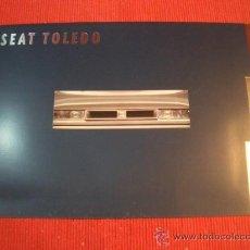 Coches y Motocicletas: SEAT TOLEDO 1993, CATALOGO COMERCIAL-BROCHURE. Lote 161720737
