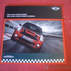 Coches y Motocicletas: MINI JOHN COOPER WORKS 2008, CATALOGO COMERCIAL-BROCHURE. Lote 27054507
