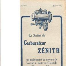 Coches y Motocicletas: 175. CARBURADOR ZENITH. Lote 11700252