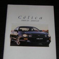 Coches y Motocicletas: TOYOTA CELICA 1800 ST / 2000 GT - CATALOGO PUBLICIDAD ORIGINAL - 1996 - FRANCES. Lote 11770400