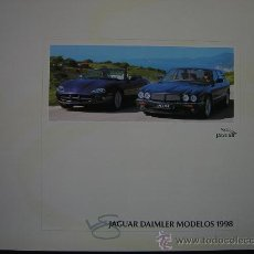 Coches y Motocicletas: CATÁLOGO GAMA JAGUAR DAIMLER 1998. Lote 24848837