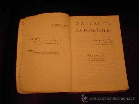 Coches y Motocicletas: Manual de Automóviles ( Arias - Paz ) - Foto 2 - 11930825
