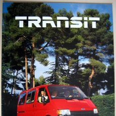 Coches y Motocicletas: FORD TRANSIT - TODA LA GAMA, CATALOGO PUBLICIDAD ORIGINAL . Lote 26337534