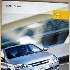 Coches y Motocicletas: OPEL CORSA - 2006 - TODA LA GAMA, CATALOGO PUBLICIDAD ORIGINAL . Lote 26337536