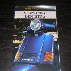 Coches y Motocicletas: VESPA COSA 200 - CATALOGO PUBLICIDAD ORIGINAL - ESPAÑOL. Lote 19951515