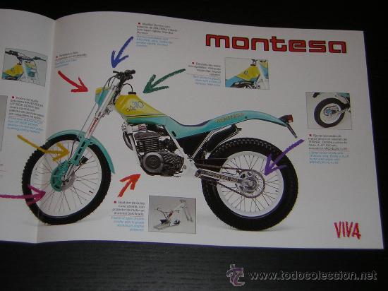 Coches y Motocicletas: MONTESA COTA 310 - CATALOGO PUBLICIDAD ORIGINAL - 1989 - ESPAÑOL / INGLES - Foto 2 - 17158557