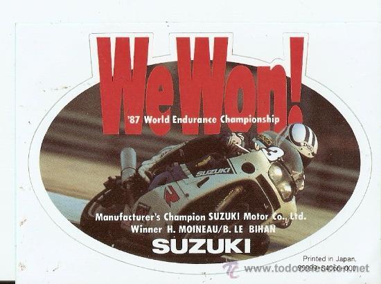 QUEX - PEGATINAS MOTOS - PEGATINA - STICKER MOTOCICLISMO (Coches y Motocicletas Antiguas y Clásicas - Catálogos, Publicidad y Libros de mecánica)