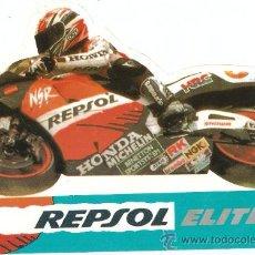 Coches y Motocicletas: QUEX - MOTOS - PEGATINA - STICKER MOTOCICLISMO HONDA REPSOL. Lote 27575296