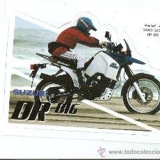Coches y Motocicletas: QUEX PEGATINAS MOTOS - PEGATINA SUZUKI PARIS DAKAR - STICKER MOTOCICLISMO. Lote 27575288