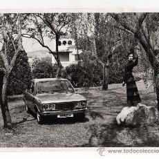 FOTOGRAFIA COCHE , SEAT 132 , FOTOGRAFIA ORIGINAL, AÑOS 60