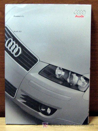 DOSSIER DE PRENSA ORIGINAL AUDI A3 2003 (Coches y Motocicletas Antiguas y Clásicas - Catálogos, Publicidad y Libros de mecánica)