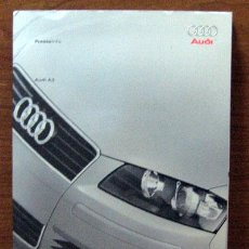 Coches y Motocicletas: DOSSIER DE PRENSA ORIGINAL AUDI A3 2003. Lote 26877545
