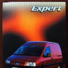 Coches y Motocicletas: DOSSIER DE PRENSA PEUGEOT EXPERT 2004. Lote 26832379