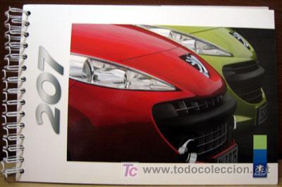 DOSSIER DE PRENSA PEUGEOT 207 AÑO 2006 (Coches y Motocicletas Antiguas y Clásicas - Catálogos, Publicidad y Libros de mecánica)