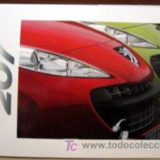 Coches y Motocicletas: DOSSIER DE PRENSA PEUGEOT 207 AÑO 2006. Lote 26877547