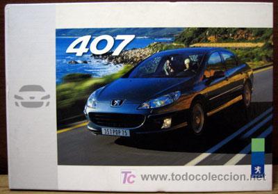 DOSSIER DE PRENSA ORIGINAL PEUGEOT 407 AÑO 2003 (Coches y Motocicletas Antiguas y Clásicas - Catálogos, Publicidad y Libros de mecánica)