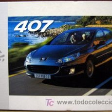 Coches y Motocicletas: DOSSIER DE PRENSA ORIGINAL PEUGEOT 407 AÑO 2003. Lote 26877548