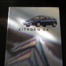 Coches y Motocicletas: CITROEN ZX BERLINAS / COUPES / BREAKS - CATALOGO PUBLICIDAD ORIGINAL - 1996 - ESPAÑOL. Lote 12436318
