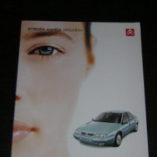 Coches y Motocicletas: CITROEN XANTIA SEDUCTION - CATALOGO PUBLICIDAD ORIGINAL - 1999 - FRANCES. Lote 12439841
