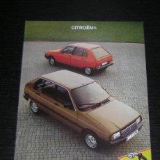 Coches y Motocicletas: CITROEN VISA - CATALOGO PUBLICIDAD ORIGINAL - 1981 - ALEMAN. Lote 12467528