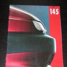 Coches y Motocicletas: ALFA ROMEO 145 - CATALOGO PUBLICIDAD ORIGINAL - 1994 - AUSTRIA. Lote 12505336