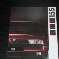 Coches y Motocicletas: ALFA ROMEO 155 - CATALOGO PUBLICIDAD ORIGINAL - 1992 - ESPAÑOL. Lote 12505364