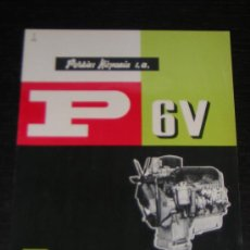 Coches y Motocicletas: PERKINS MOTOR DIESEL P 6V - CATALOGO PUBLICIDAD ORIGINAL - ESPAÑOL. Lote 12561412