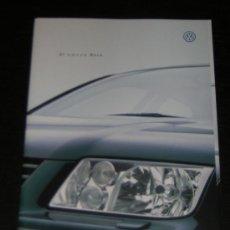 Coches y Motocicletas: VOLKSWAGEN BORA - CATALOGO PUBLICIDAD ORIGINAL - 1998 - ESPAÑOL. Lote 12830625