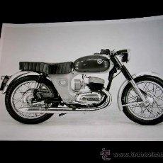 Coches y Motocicletas: BULTACO FOTOGRAFÍA ORIGINAL PRENSA. SELLADA REVERSO COPYRIGHT. 18 X 13 CMS. AÑOS 60-70. EXCELENTE. Lote 13259731
