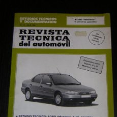 Coches y Motocicletas: FORD MONDEO 4 CILINDROS GASOLINA - RTA Nº 18 - MANUAL TALLER ORIGINAL - 1994 - ESPAÑOL. Lote 26001485