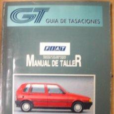 Coches y Motocicletas - MANUAL DE TALLER FIAT UNO GUIA DE TASACIONES MARZO 1996 - 13439481