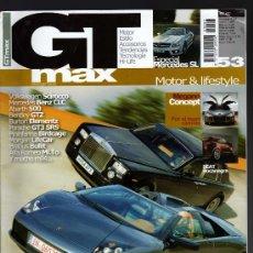 Coches y Motocicletas: REVISTA GT MAX Nº53 2008 (114 PÁGINAS). Lote 13589179