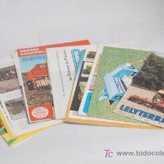 Coches y Motocicletas: LOTE DE 24 CATÁLOGOS AGRÍCOLAS.. Lote 22818833