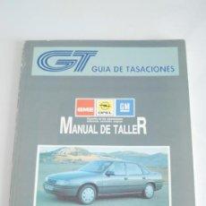 Coches y Motocicletas: MANUAL DE TALLER DE OPEL VECTRA. NOVIEMBRE 1990. TOMO I.. Lote 27521820