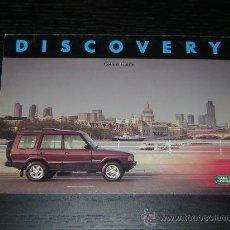 Coches y Motocicletas - LAND ROVER DISCOVERY - GAMA COLORES - CATALOGO PUBLICIDAD ORIGINAL - 1993 - INGLES - 13633319