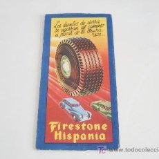 Coches y Motocicletas: MAPA DE CARRETERAS. FIRESTONE HISPANIA. GALICIA. . Lote 22171308
