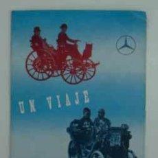 Autos und Motorräder - UN VIAJE RETROSPECTIVO. 1883 - 1954. MOTORES MERCEDES BENZ. TRÍPTICO. - 17057202