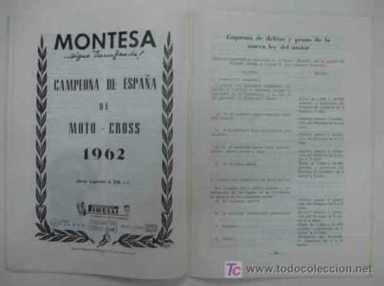 Coches y Motocicletas: REAL MOTO CLUB DE CATALUÑA. BOLETÍN INFORMATIVO. 1963. Nº 23 - Foto 4 - 13896396